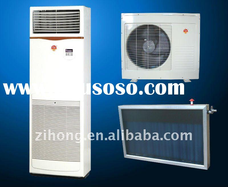 floor standing solar air conditioner cooling&heating