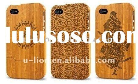 for iphone bamboo case for iPhone 3G/iPhone 4 Case