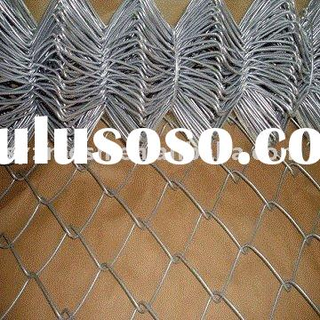 galvanized roll chain link wire mesh fence