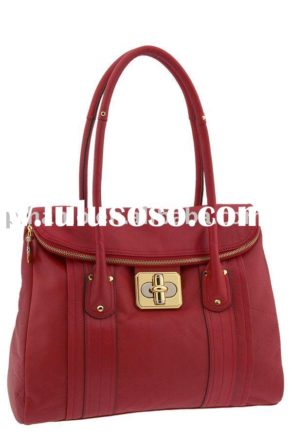 genuine leather tote fashion lady bag fashion bag