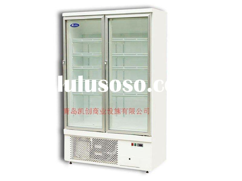 glass door upright display freezer/ upright chiller/upright refrigerator