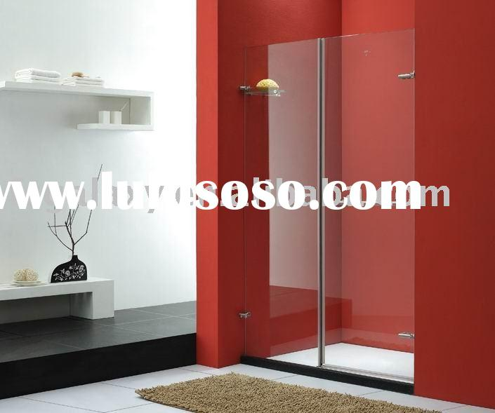 glass shower door, simple shower enclosure,bathroom cabinet KP2B