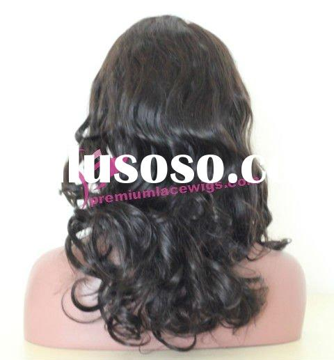glue less silk top lace wigs malaysian hair adjustable