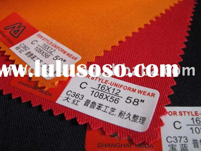 grease proofing/acid and alkali resistant fabric/business clothes fabrics/labour suit fabrics/jumper