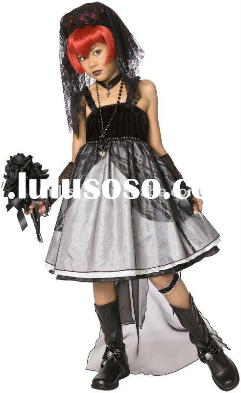 halloween children corpse bride fairy fancy dress costumes MAC-0387