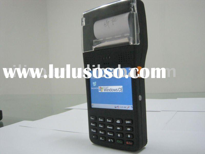 handheld barcode scanner printer terminal with wifi gprs