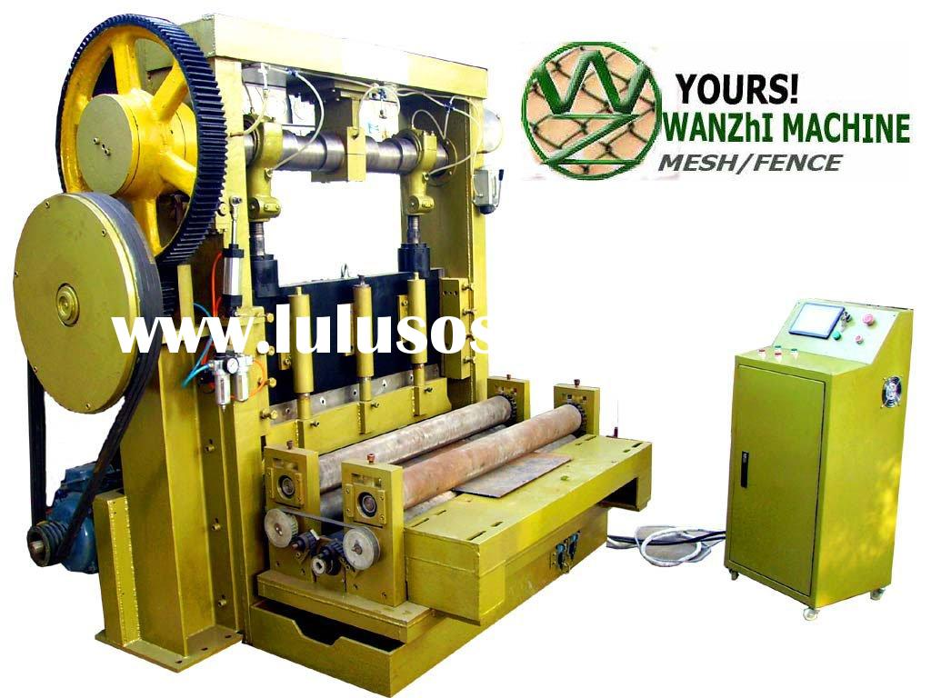 heavy expanded wire metal mesh machine