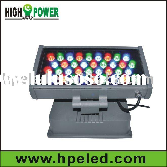 high brightness dmx rgb outdoor 36w led wall washer hot sell