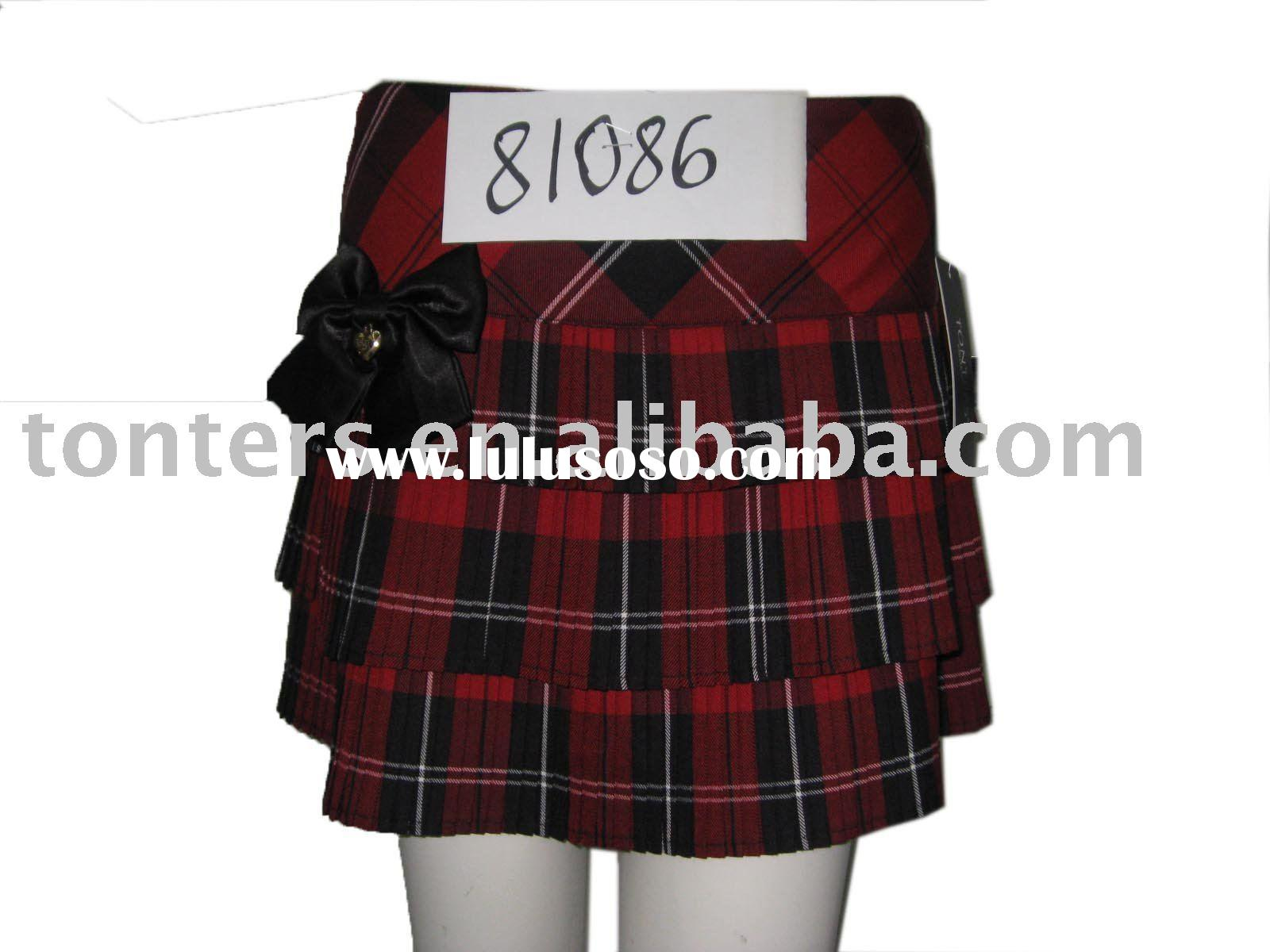 high school girls skirts