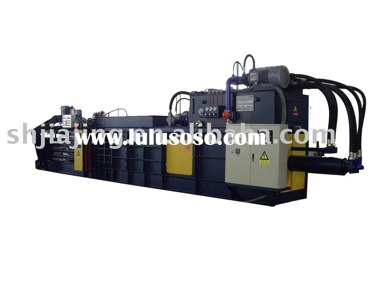 horizontal baling machine,horizontal hydraulic baler machine,horizontal press baler