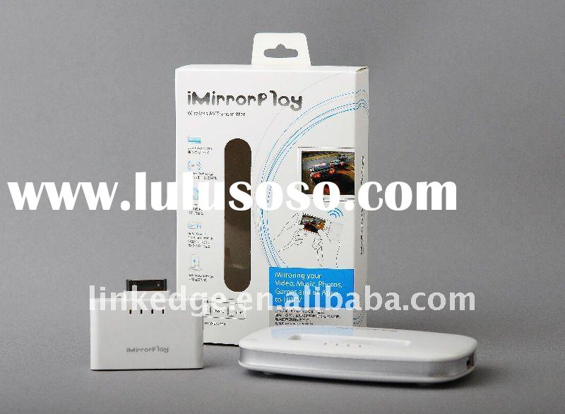 iMirrorPlay for iPhone/iPad/iPod to the big TV, wireless AV transmitter, wireless av adaptor