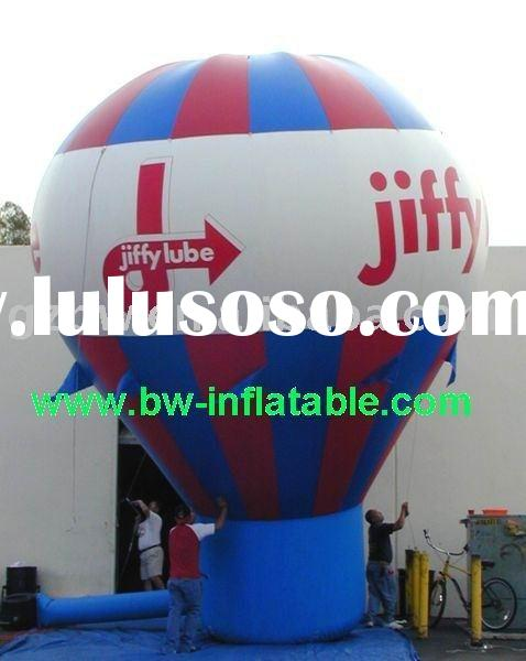 inflatable ground balloon,advertising product,roof top balloon