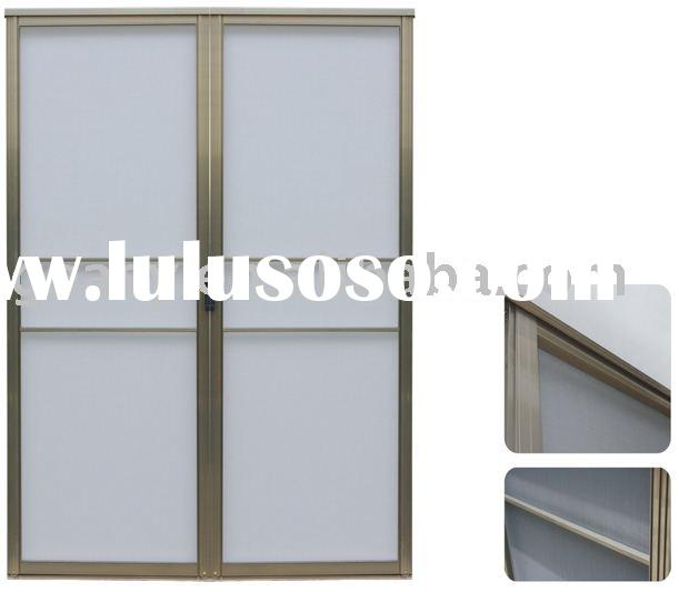 French door retractable screens thousands pictures of for Interior screen door