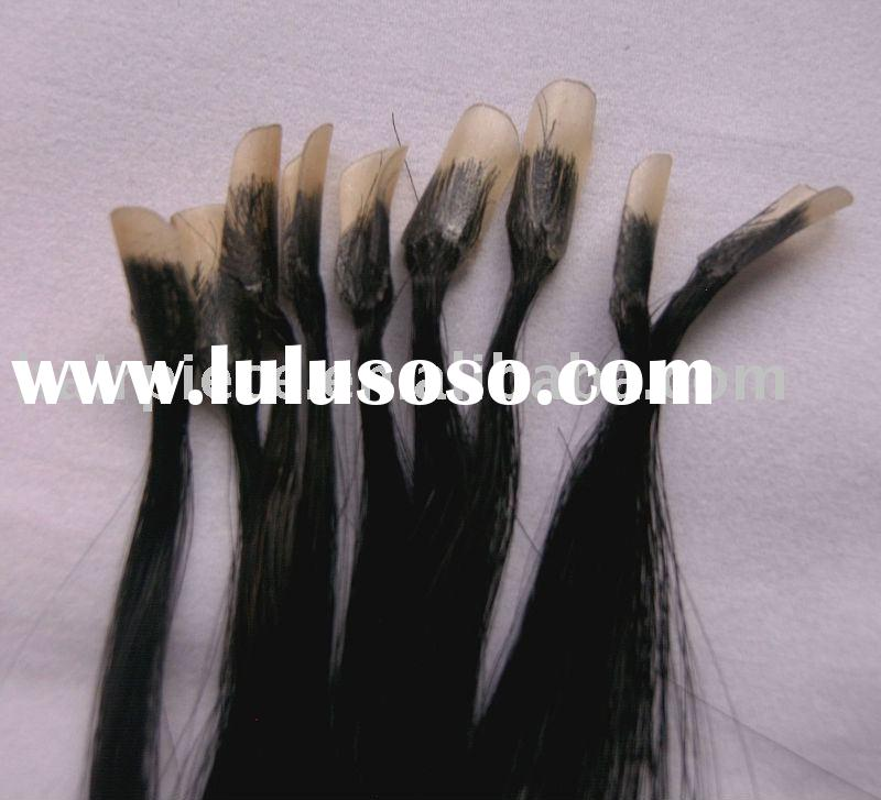 keratin glue hair extensions,pre-bonded hair extensions,nail hair,stick hair,loop hair