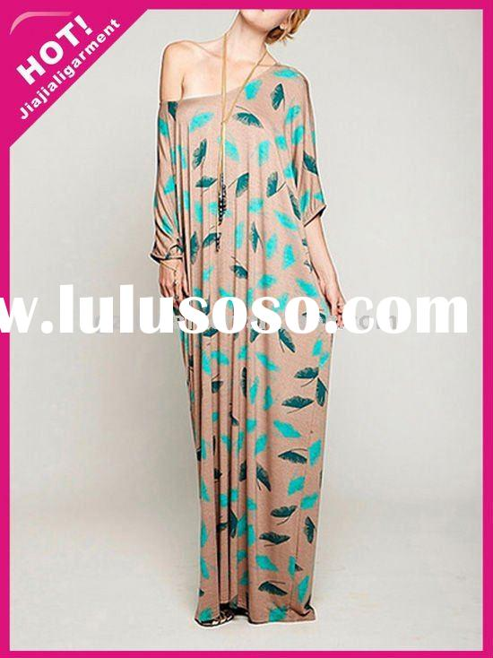 lady's fashion maxi dress