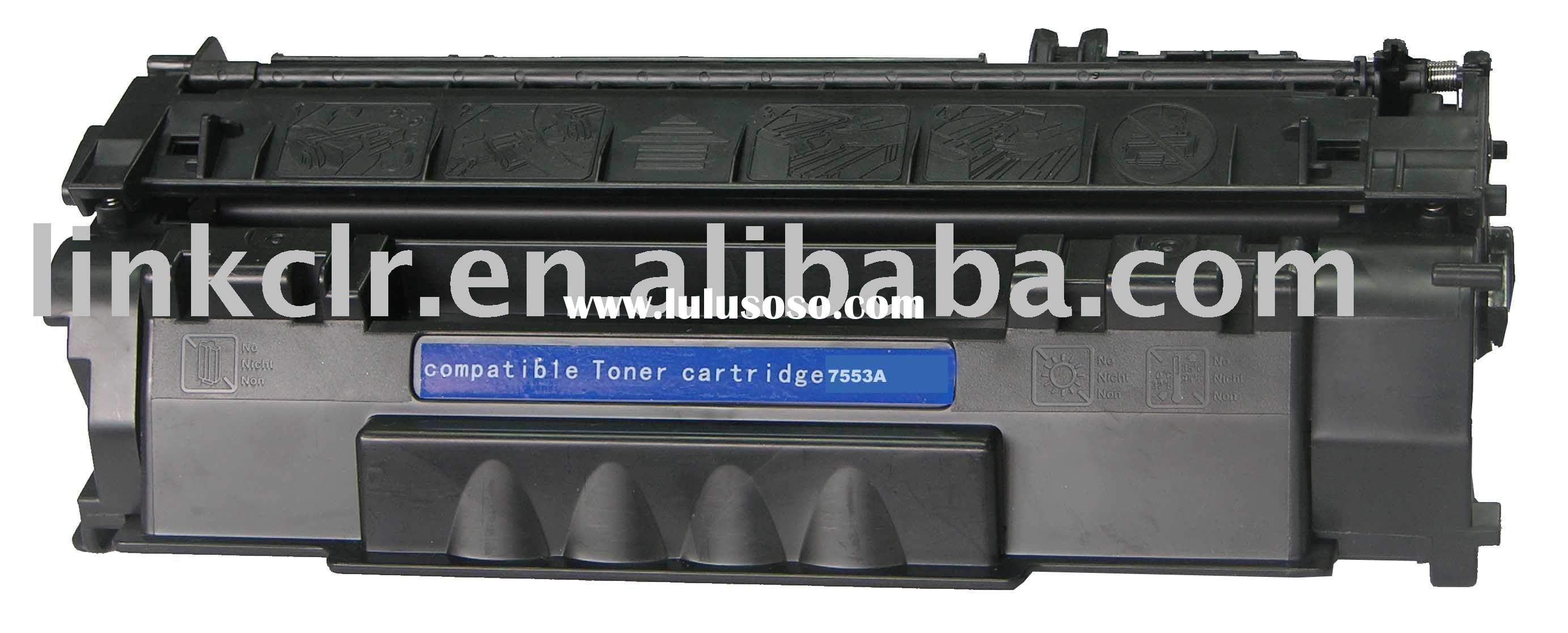 laser toner cartridges for HP C7553A / 53A/ 7115A /15A .trusted supplier of toner cartridges and ink