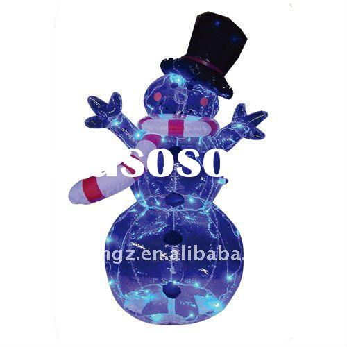 led light Christmas Snowman Outdoor and Indoor Decoration