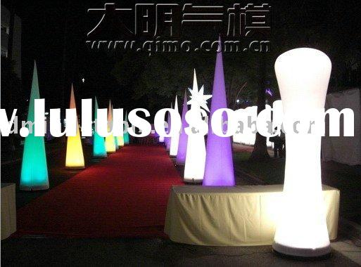 led party/event/decoration/ inflatable cone