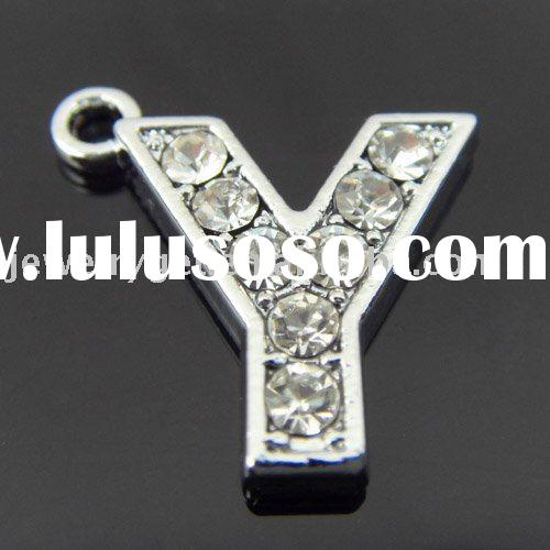 letter Y accessories ,letter Y pendant ,fashion jewellery ,20pcs/lot ,free shipping ,pt-145