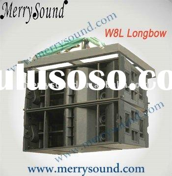 line array system, martin audio, speaker cabinet (W8L Longbow)