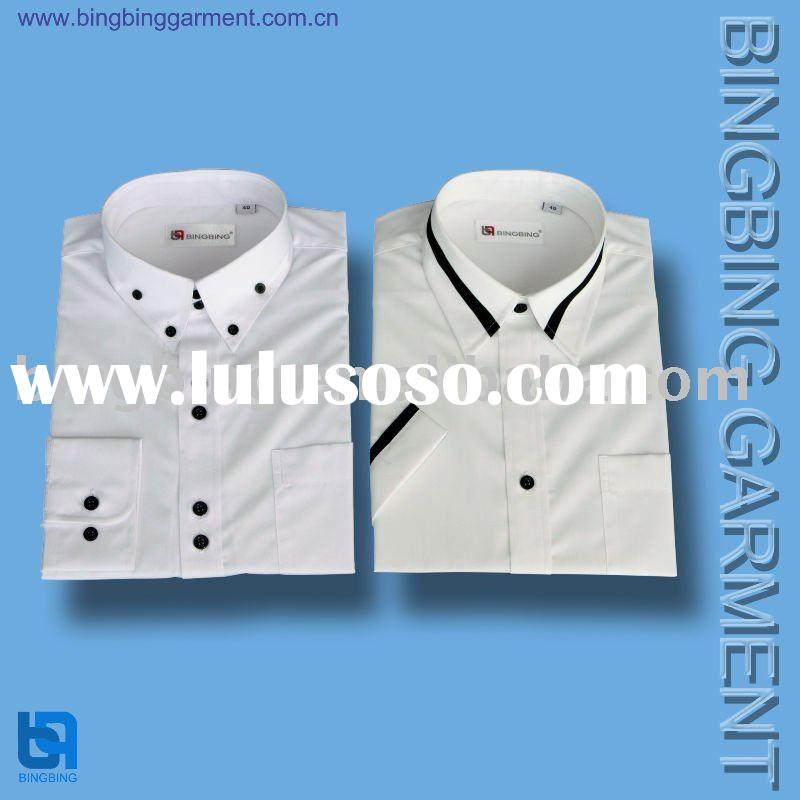 men's fashion design cotton shirt