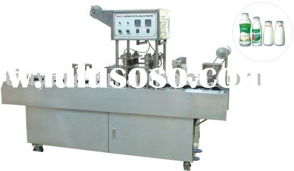 milk bottle filling and sealing machine