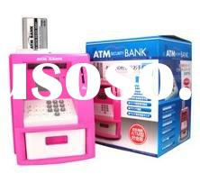 mini safe,Mini voice ATM Teller Machine / ATM piggy bank / ATM / ATM piggy bank