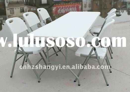 modern home office furniture plastic folding message chairs and tables