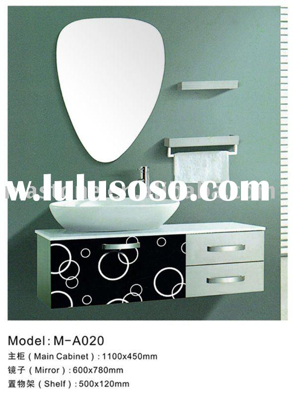 modern style stainless steel bathroom cabinet