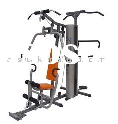 multi gym fitness equipment 2-station integrated exercise machine