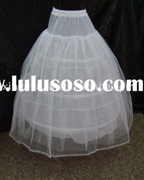 new designer ball gown style plus size wedding petticoats R-12