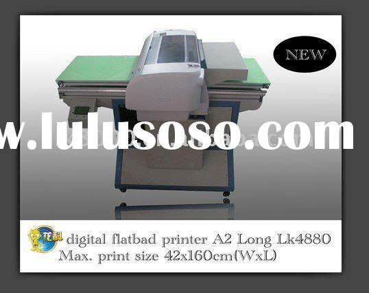 new generation model A2 flatbed multicolor textile printing machine t-shirt printing machine