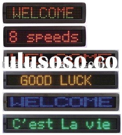 one line led moving sign,Can be used in shops, schools, offices, securities, financial services, air