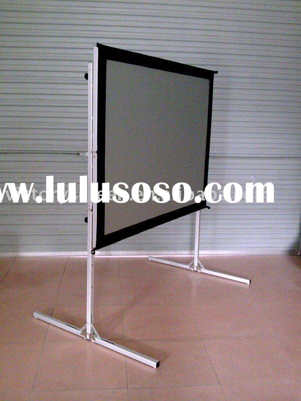 outdoor rear projection screen Extra strong front projection screen surface with black back side (standard) rear  projection  special cleaning liquid for airscreen projection surfaces.