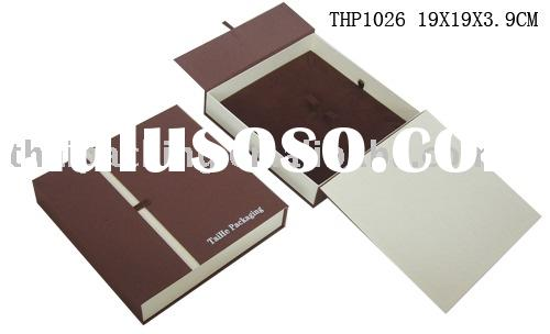 paper box, jewelry packing, jewellery case, packaging (THP1026)