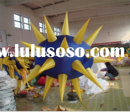 party decoration light inflatable star