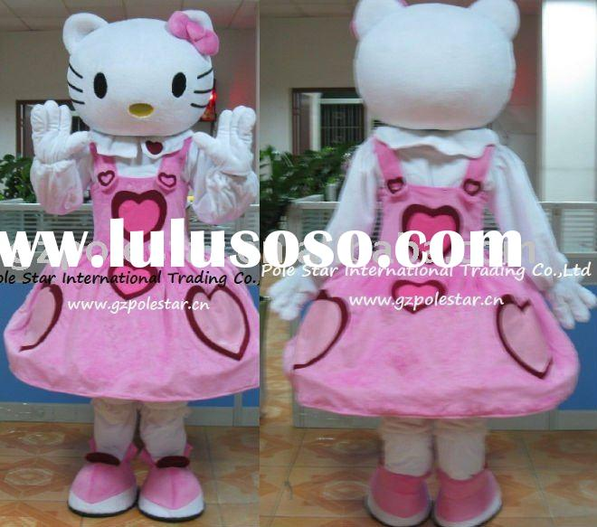 pink dress hello kitty costume