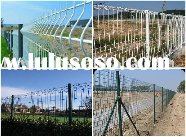 plastic garden fence panels/ wire mesh fence