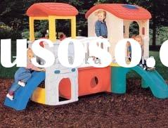 playhouse,outdoor playhouse,plastic house,plastic toys kid play system