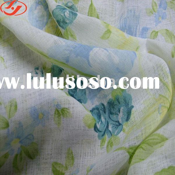 polyester cotton printed fabric / printed cotton fabric / textile