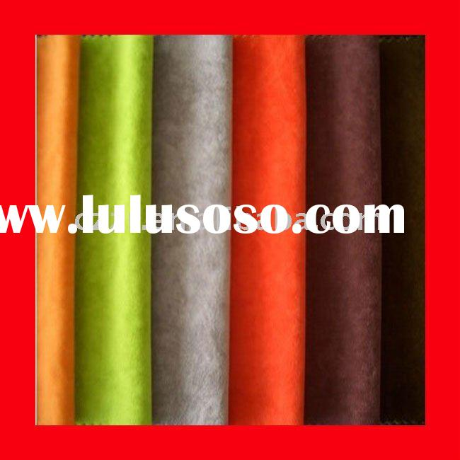 polyester tricot flocking fabric for furniture