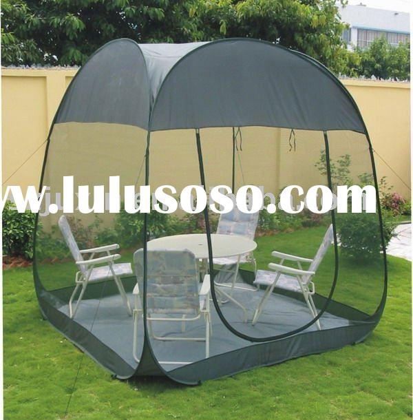 pop up steel wire screen house room