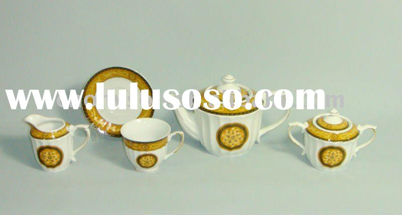 porcelain tea kettle set