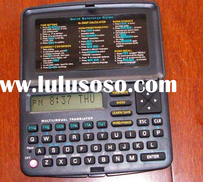 languages electronic dictionary translator translation with calculator