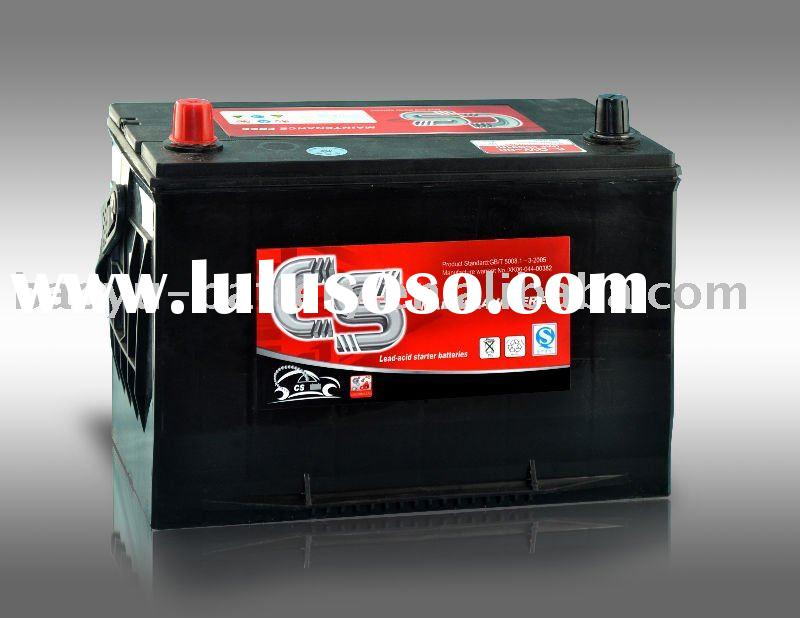 power lead acid battery car