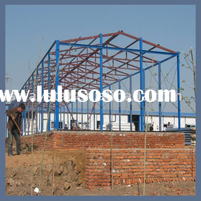 prefabricated mobile light steel structure warehouse