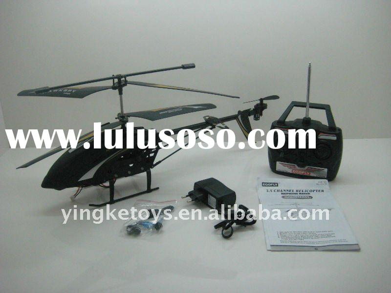 radio control helicopter camera with gyro for outdoor flying