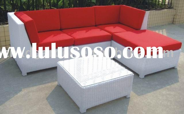 resin wicker patio furniture rattan sofa wicker furniture
