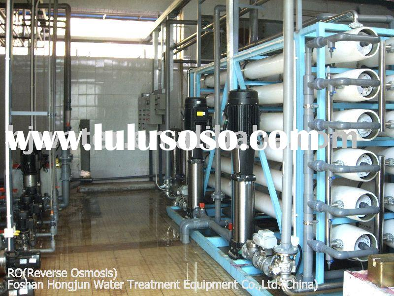 reverse osmosis system with grundfos pump