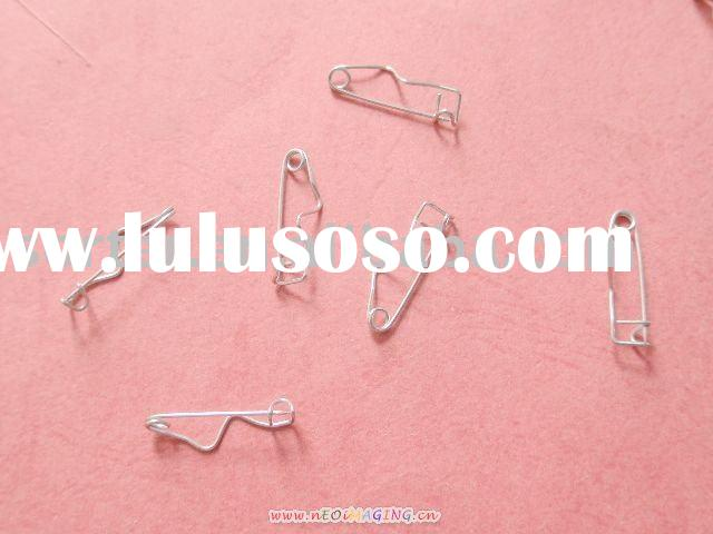safety pins/crimp pins/crimp safety pins/metal safety pins